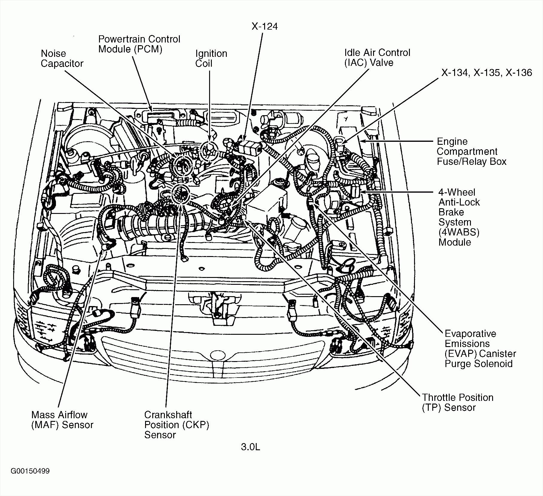 2004 Ford Taurus Engine Diagram - Wiring Diagrams Data
