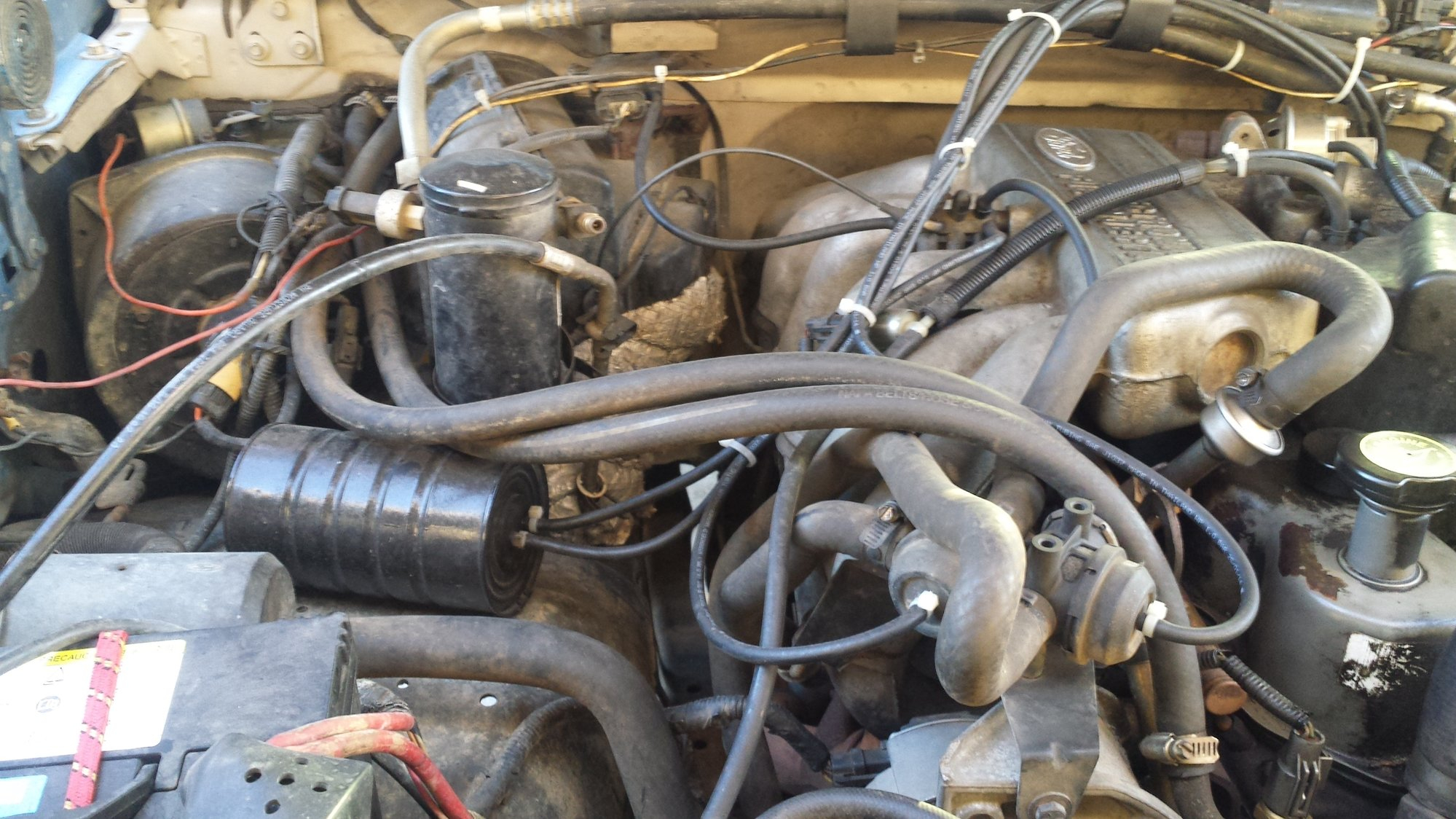 4.9 Efi Vacuum Lines Photos - Ford Truck Enthusiasts Forums