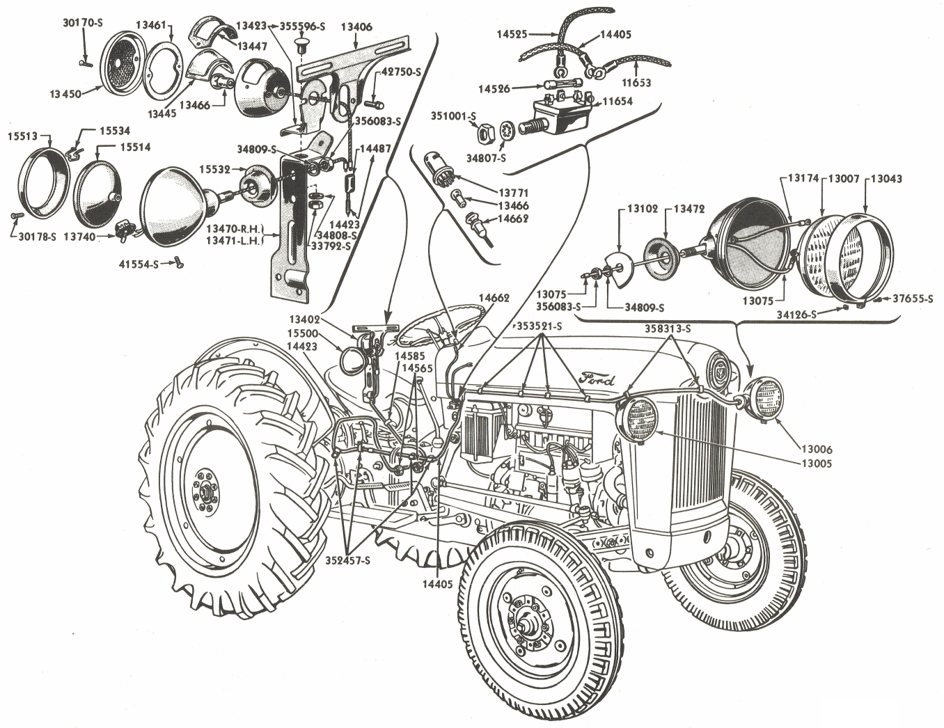 Firing Order For 1953 Ford Jubilee Tractor