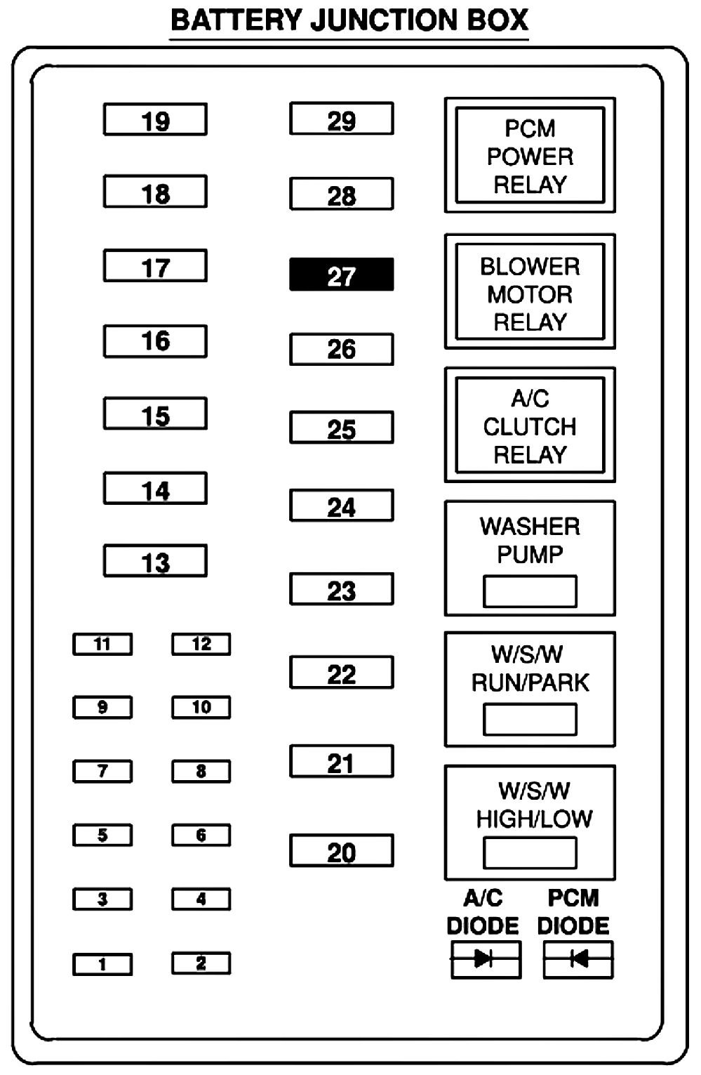 Diagram] 1999 Ford F250 Super Duty V10 Fuse Diagram Full
