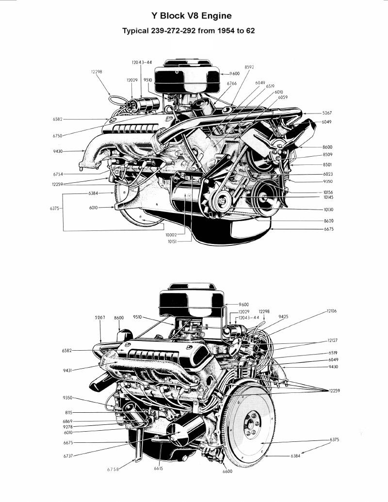 Diagram] Ford 292 Engine Diagram Full Version Hd Quality
