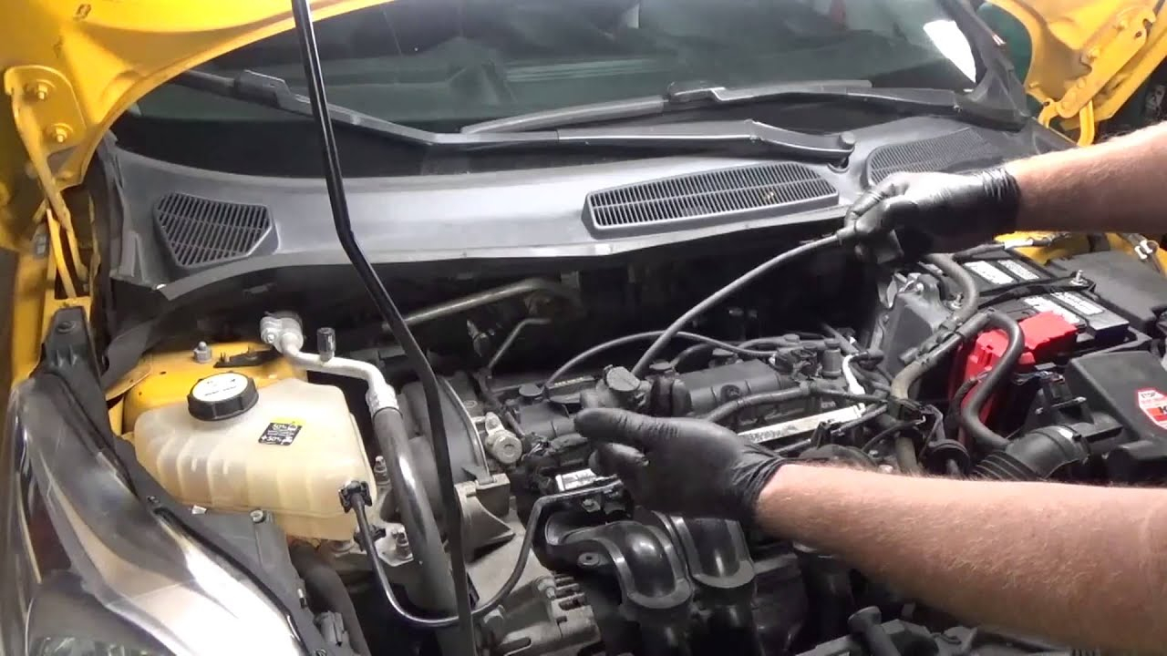 Ford Fiesta Spark Plugs And Wires 2011