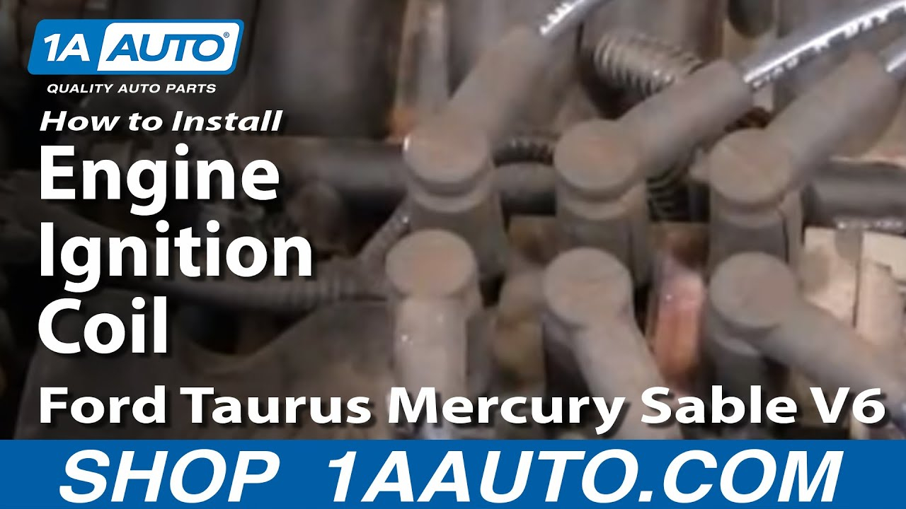 How To Replace Ignition Coil 01-07 Ford Taurus