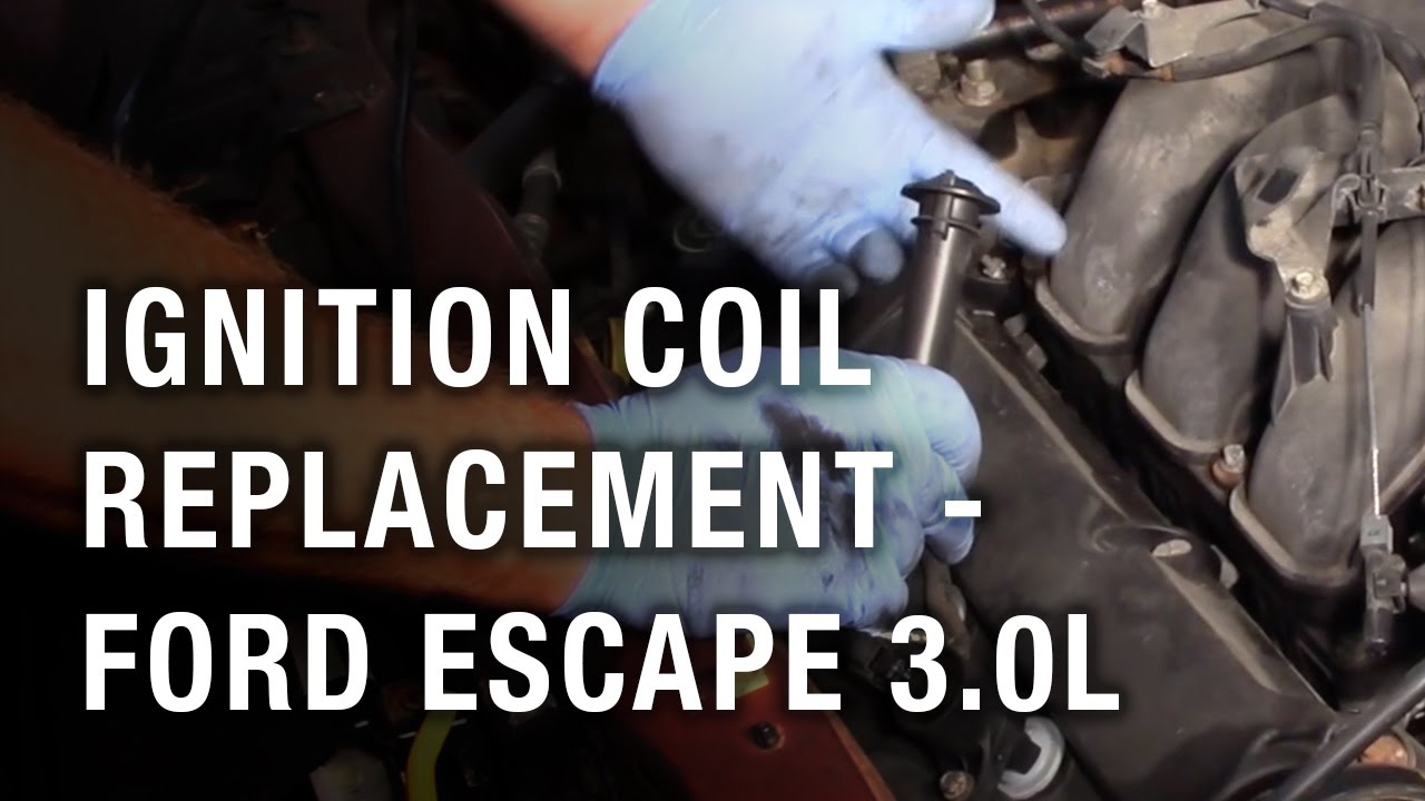 Ignition Coil Replacement - Ford Escape 3.0L