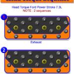 Powerstroke 7.3L Head Bolt Torque Sequence   Gtsparkplugs