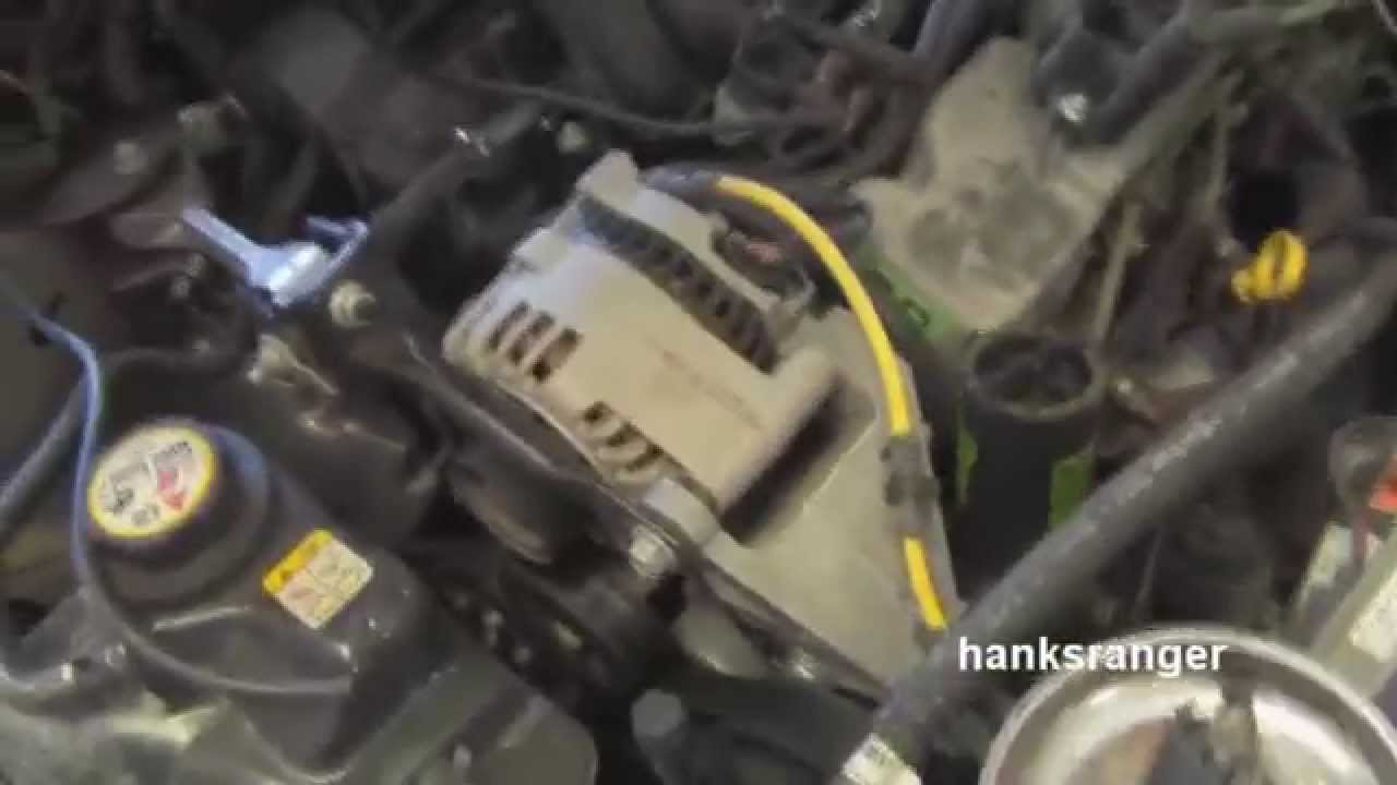 Replace Ford Taurus Spark Plugs And Wires 3.0 Ohv Vulcan