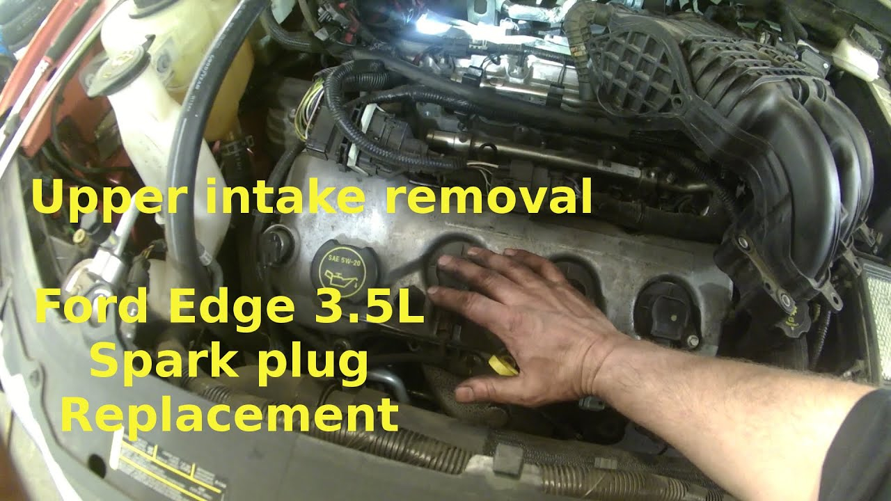 Spark Plug Replacement Ford Edge 2007 3.5L V6. How To Change Your Plugs