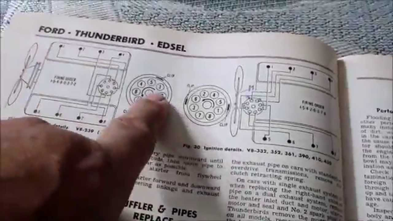 Timing Chain Y Block Ford Timing - Youtube