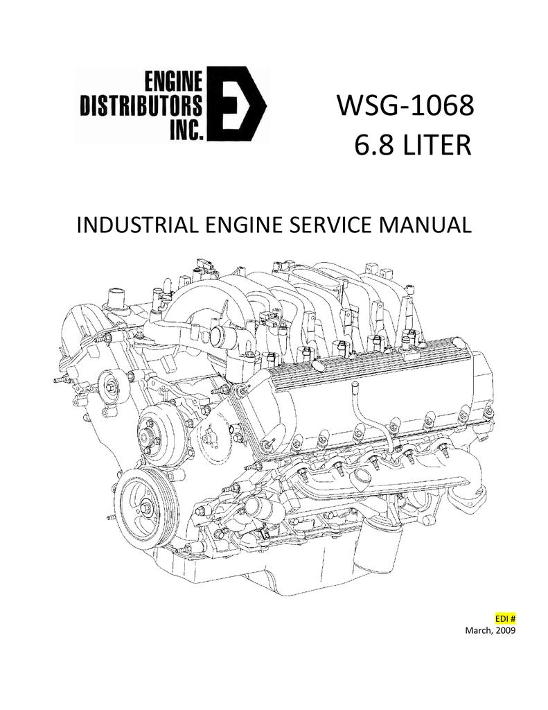 Wsg-1068 6.8 Liter - Edi Ford Industrial Engine