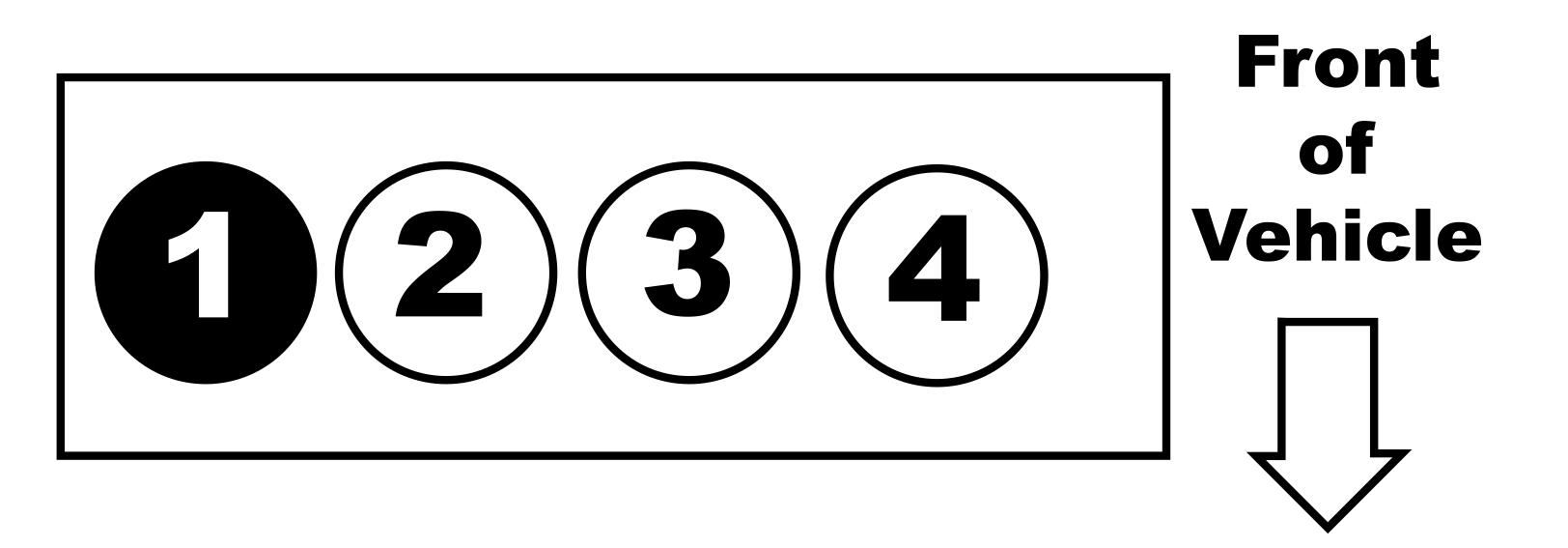 2.5L 4-Cylinder Ford Firing Order — Ricks Free Auto Repair