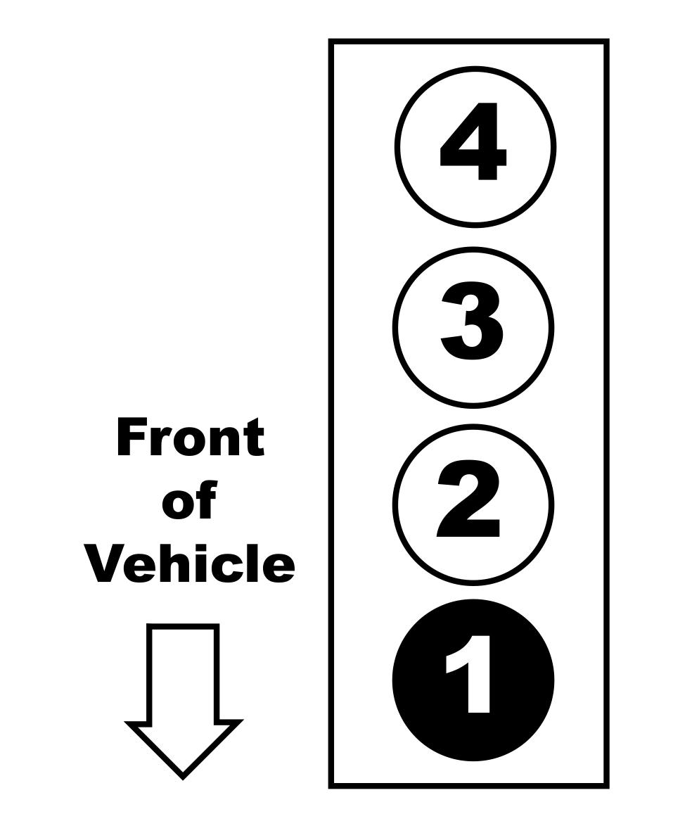 2008 Ford Ford Ranger 2.3L 4-Cyl Firing Order — Ricks Free