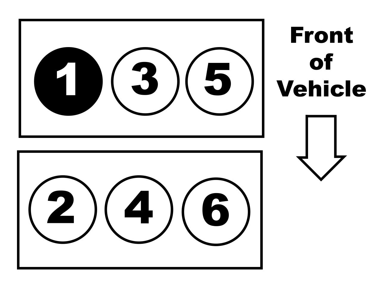 2010 Ford Fusion 3.5L V-6 Firing Order — Ricks Free Auto