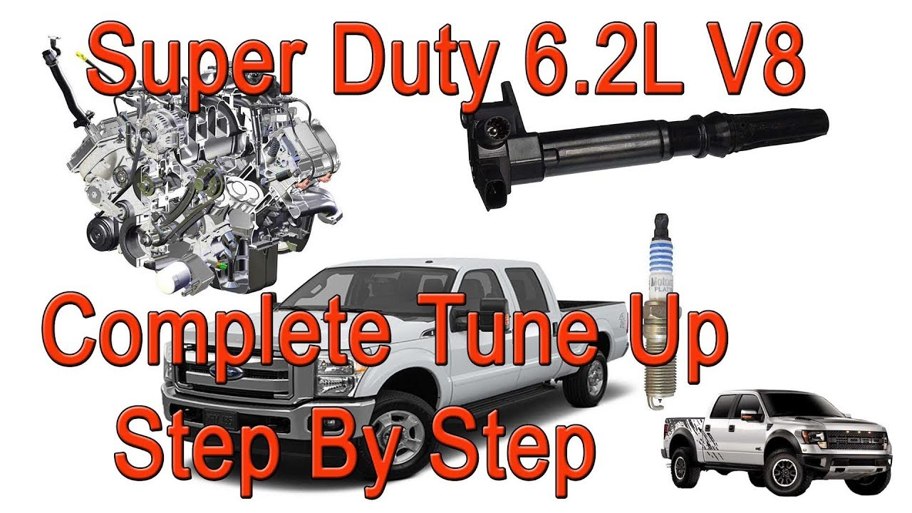 2011-2016 Ford F250 6.2 V8 Spark Plugs And Coil Packs Replacement - Super  Duty