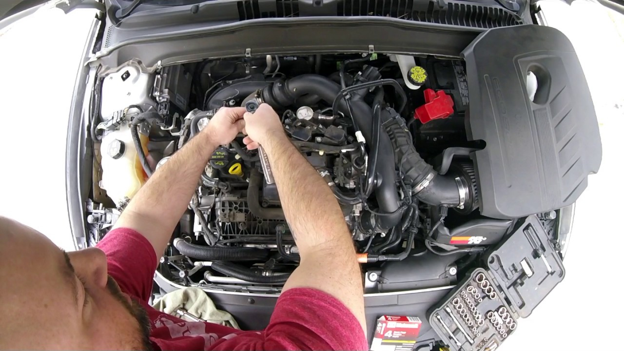 2014-17 Ford Fusion Spark Plug Change (Extended Version)