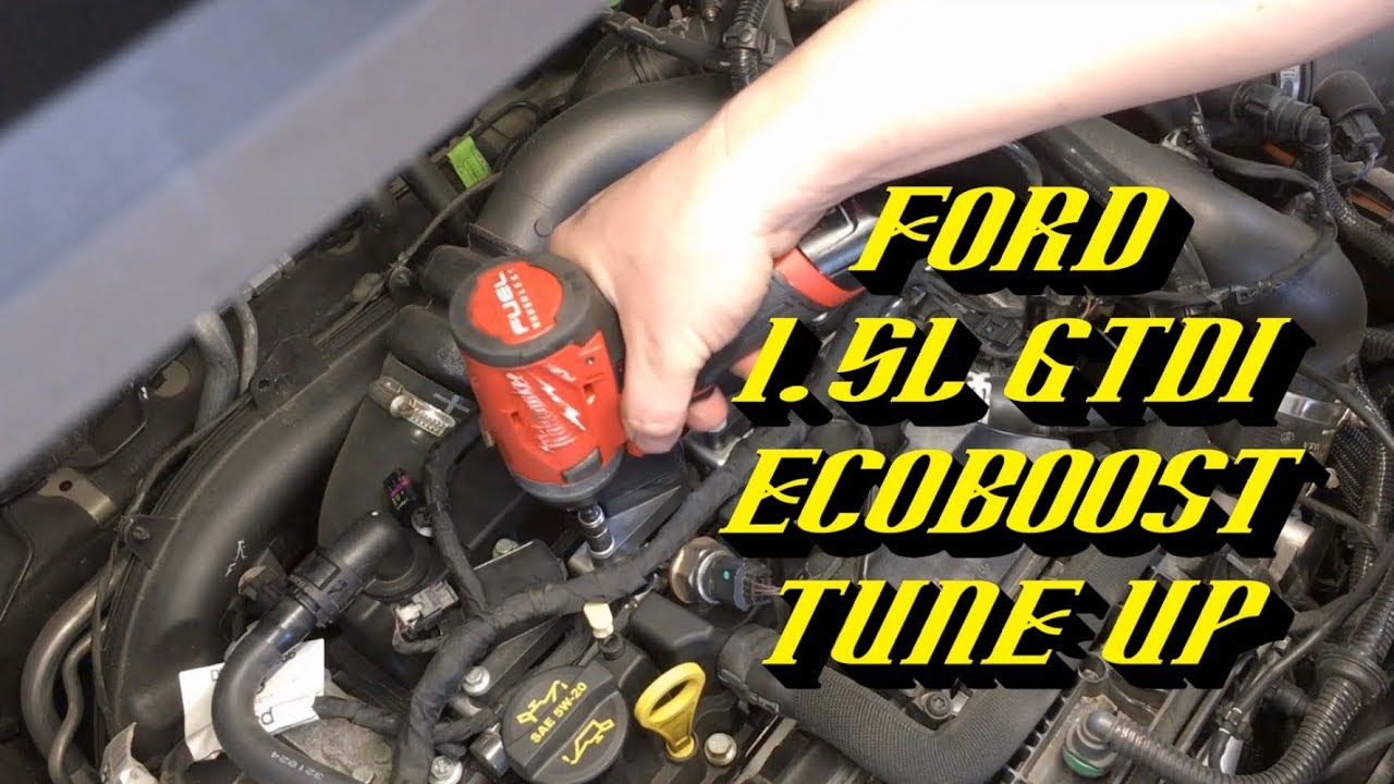 2014-2018 Ford 1.5L Gtdi Ecoboost Engine: Spark Plug Replacement