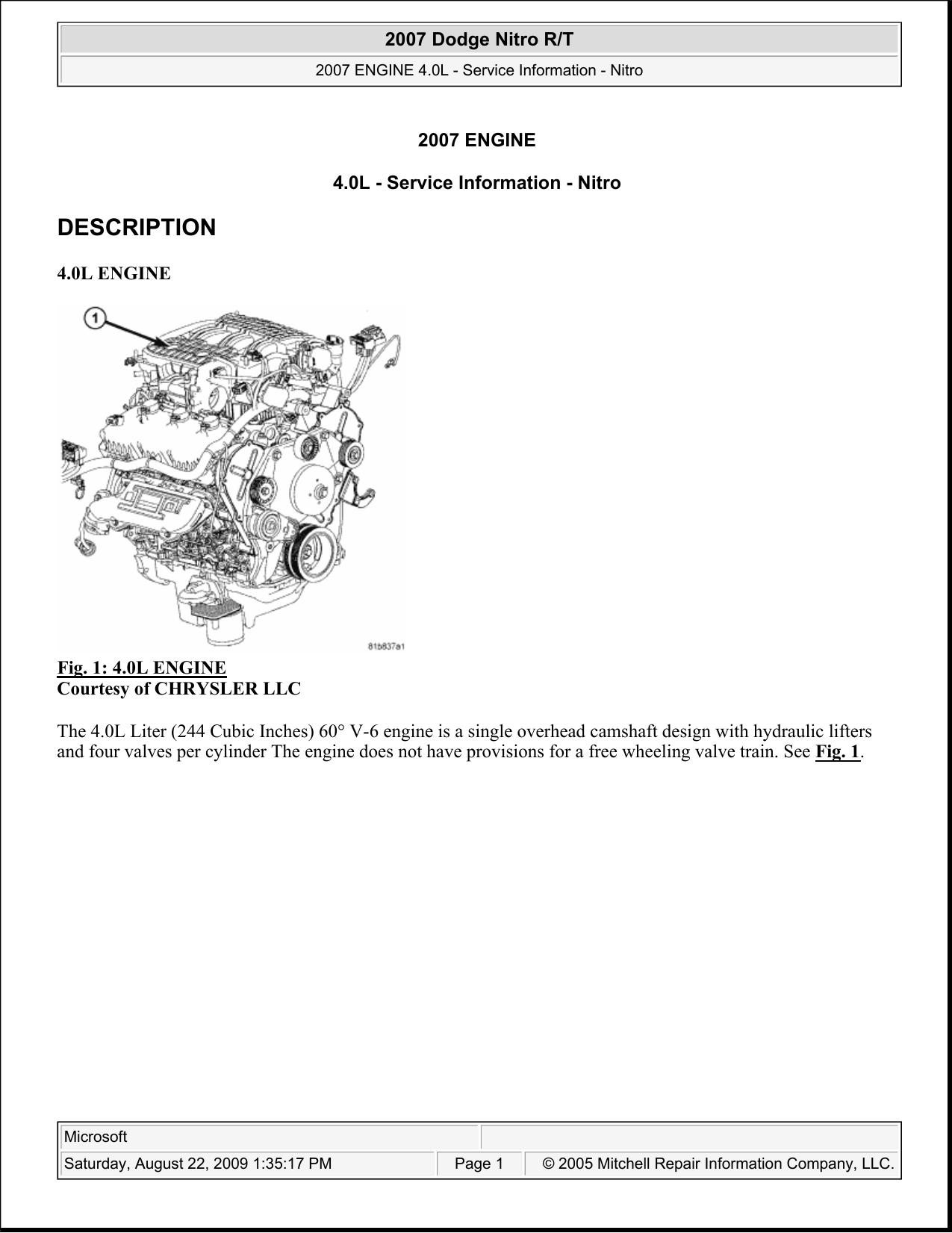 4.0L Engine - Gruppo Radicale Basilea | Manualzz