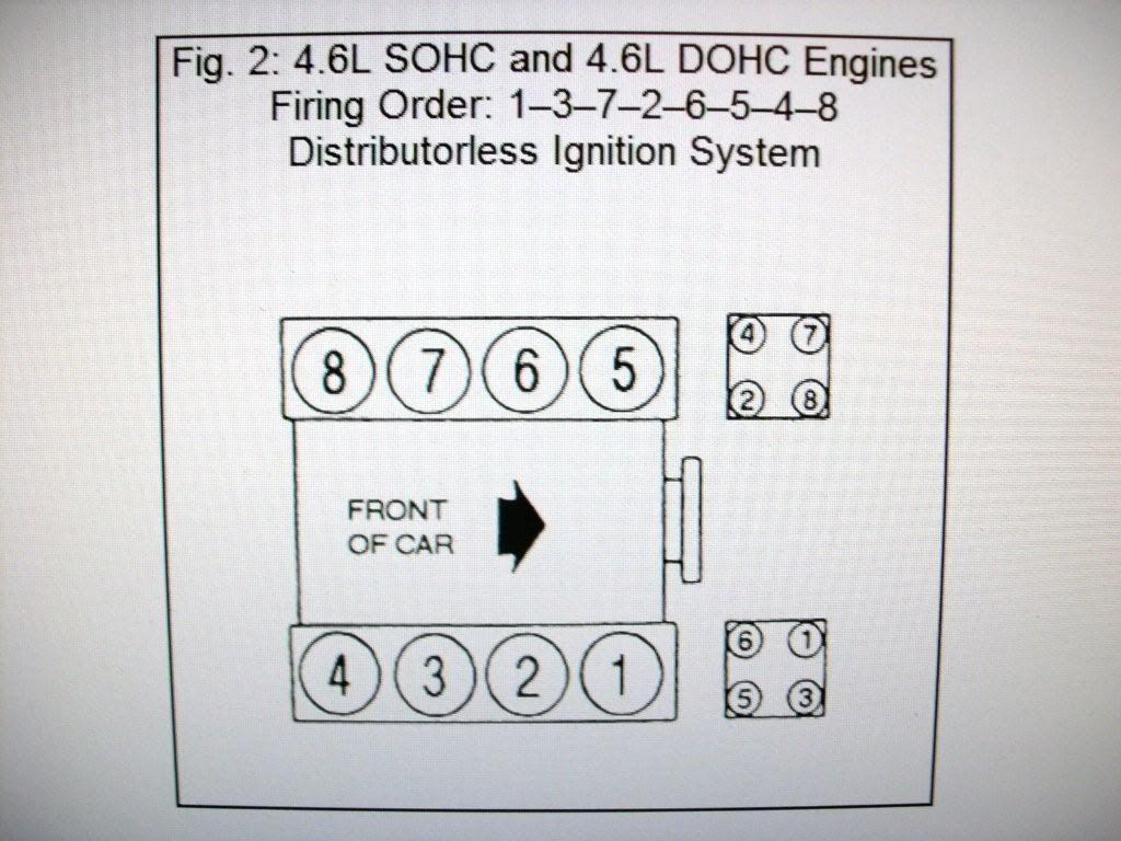 2001 Ford F150 4 6 L Firing Order