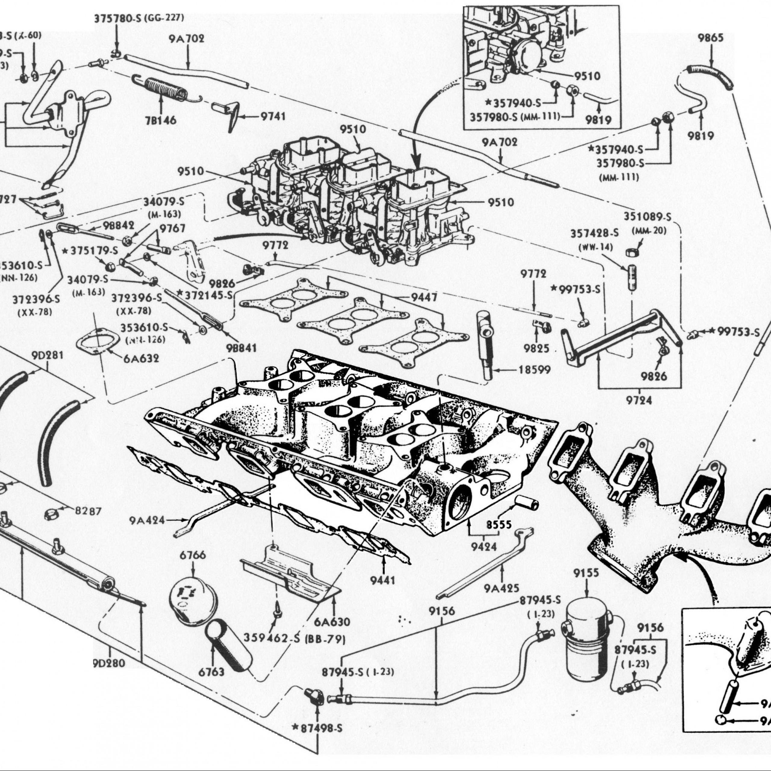 Diagram] 1997 Ford 460 Engine Diagram Full Version Hd