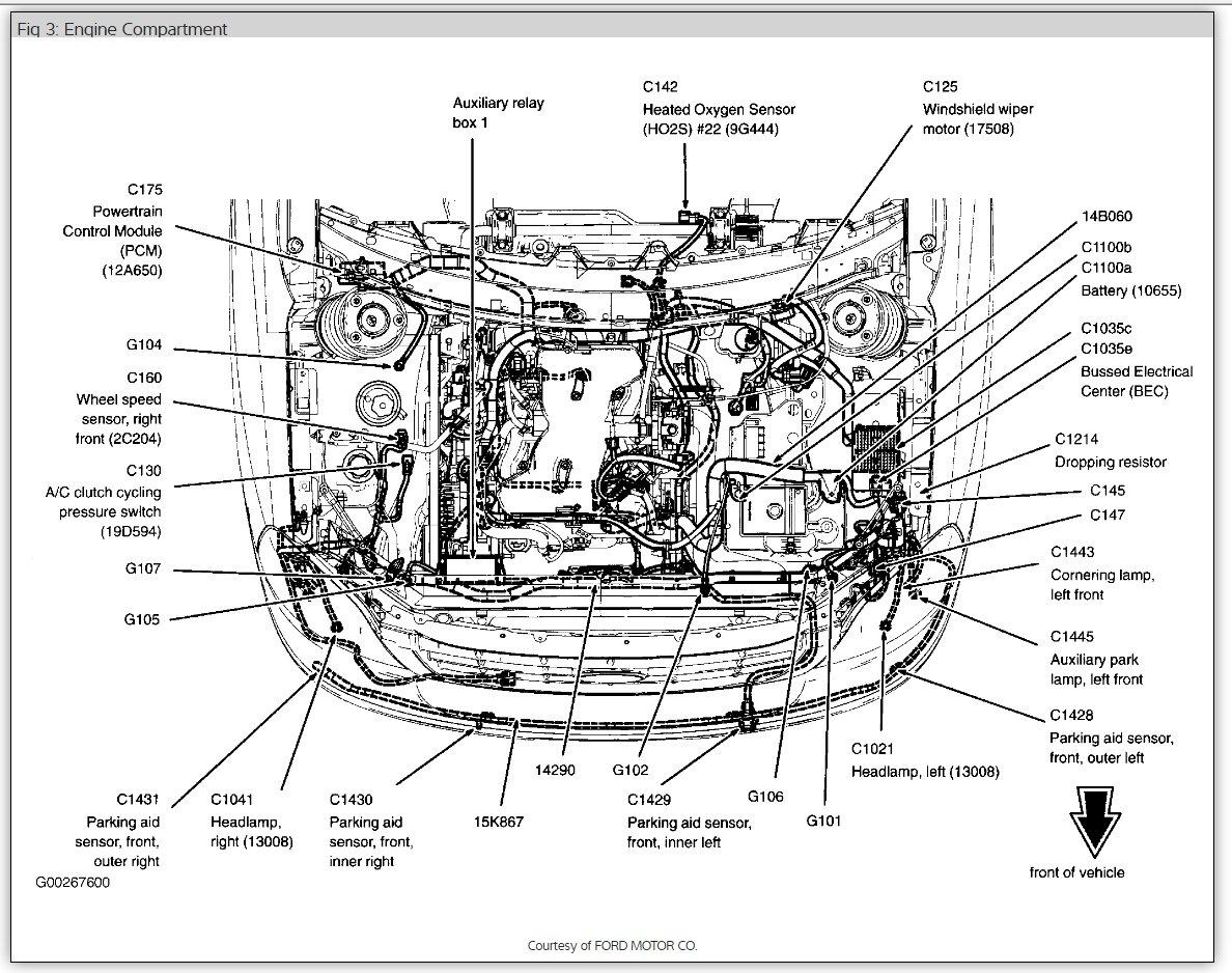 Diagram] 2004 Ford Freestar Ignition Wiring Diagram Full