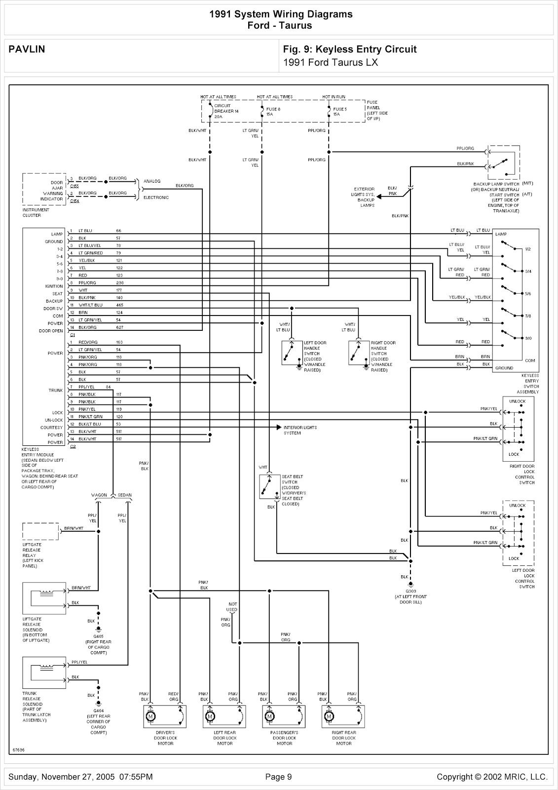 Diagram] 2006 Ford Taurus Wiring Diagram Full Version Hd