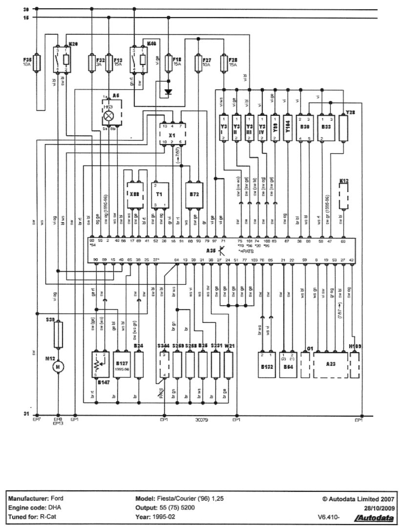 Diagram] Ford Fiesta 1 25 Zetec Wiring Diagram Full Version