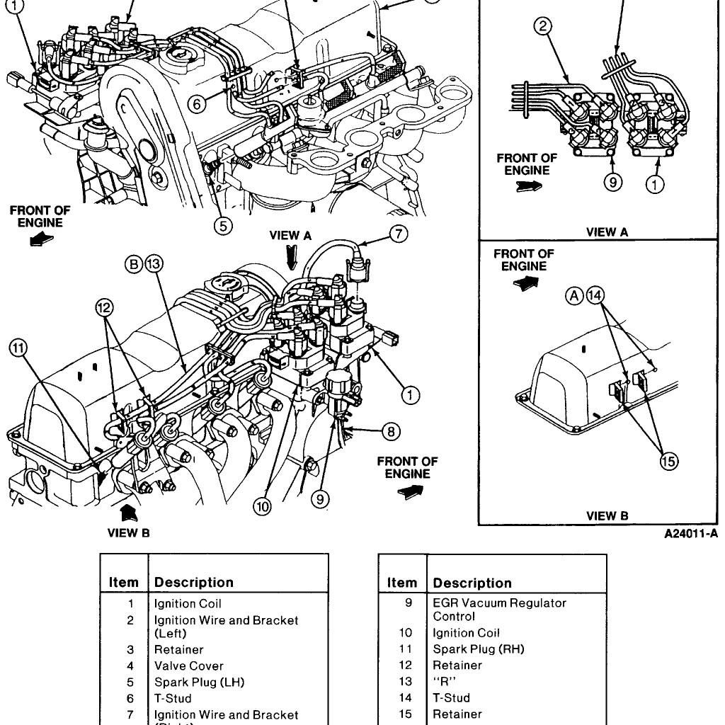 Diagram] Ford Ranger Spark Plug Wire Diagram Full Version Hd