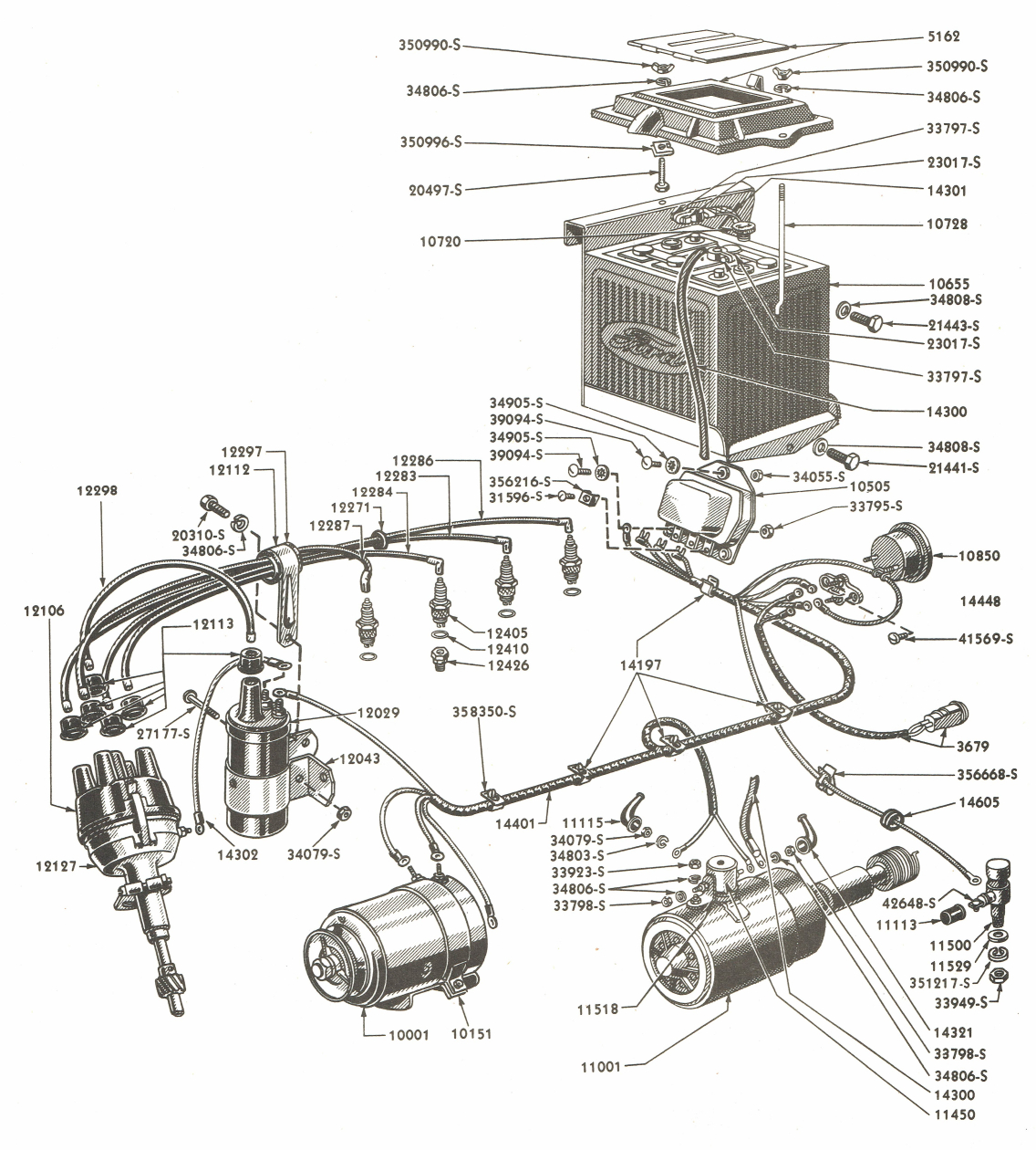 Diagram] Tracor 8N Ford Tractor Wiring Diagram Full Version