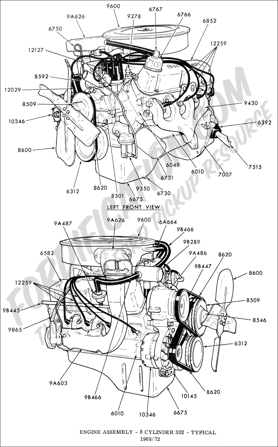Diagram] Wiring Diagram To 1968 302 Full Version Hd Quality