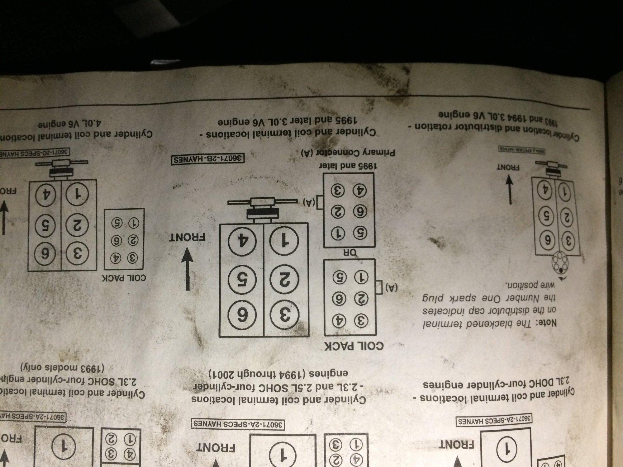 Download [Grafik] 2000 Ford Ranger Firing Order Diagram Full