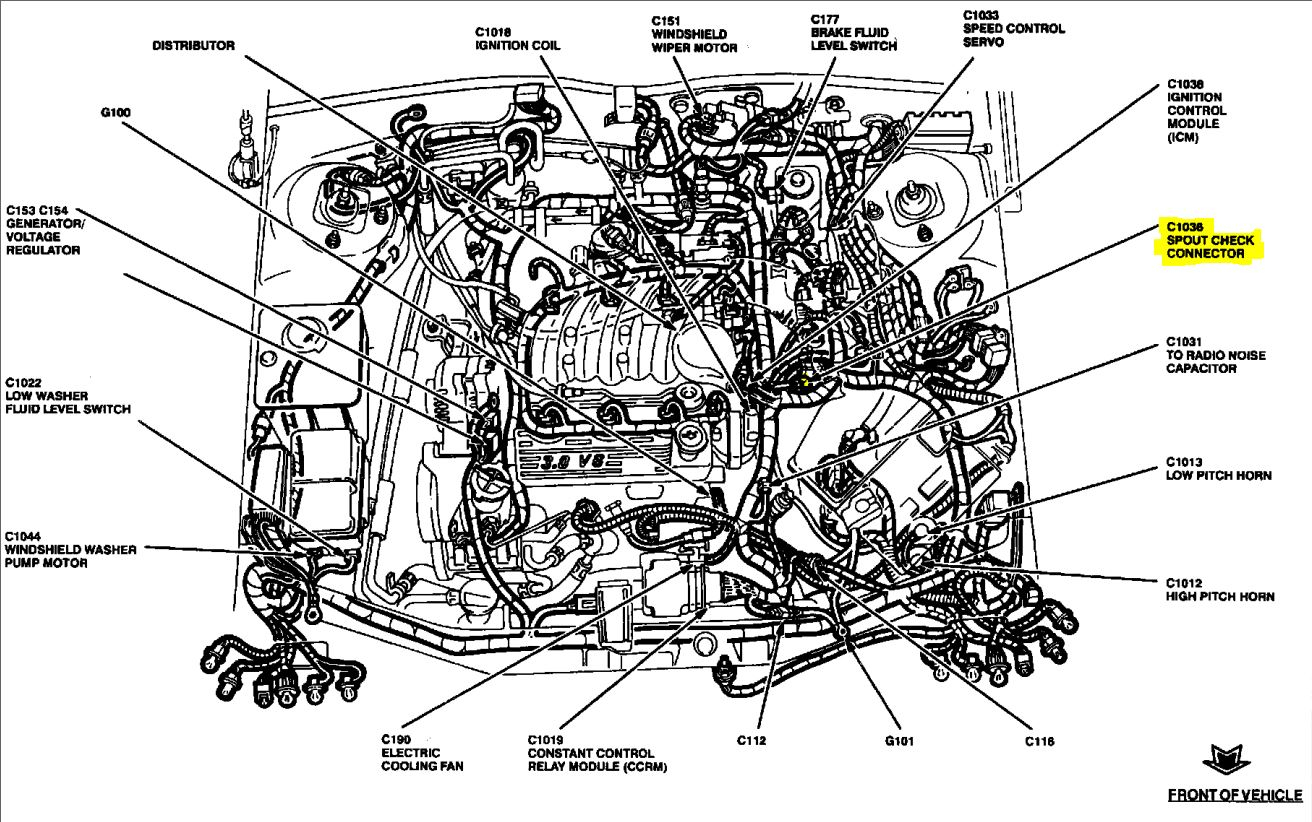 🏆 [Diagram In Pictures Database] 2002 Ford Taurus Firing
