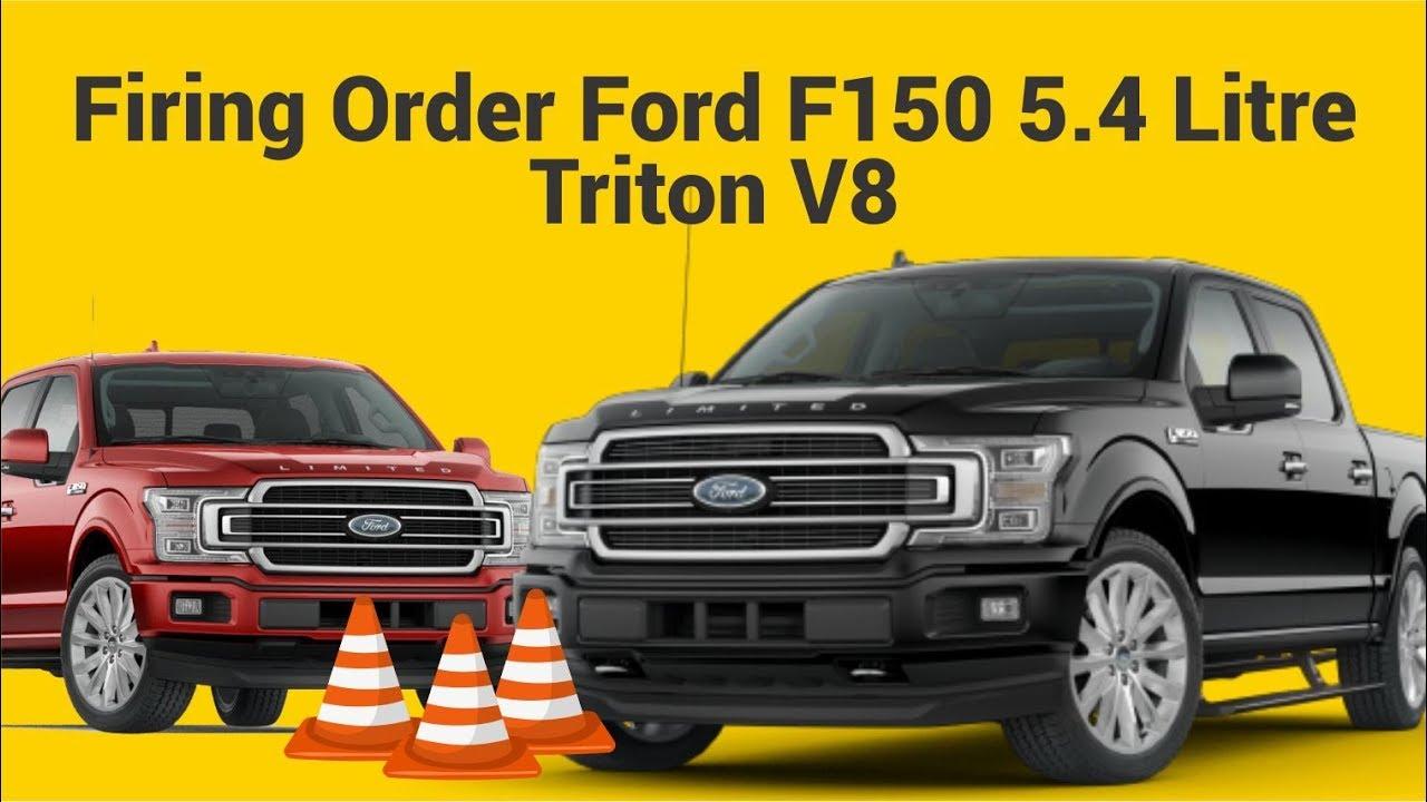 Firing Order Ford F150 5.4 Litre Triton V8 - Youtube