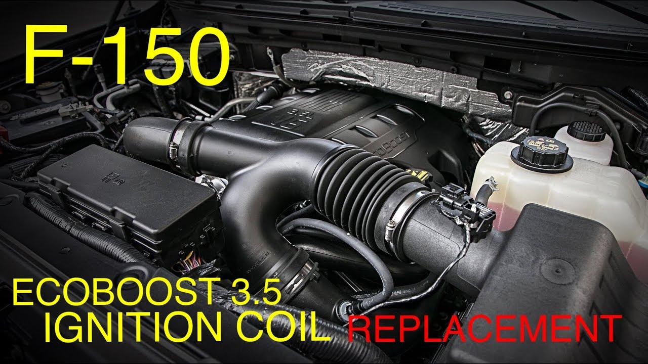 Ford F-150 Ecoboost 3.5 Ignition Coil Replacement