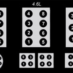 Ford Firing Order 5.0,4.6,3.8,3.9,4.9,7.5,5.8,5.4