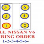 Nissan Firing Order V6 1 2 3 4 5 6 - Youtube