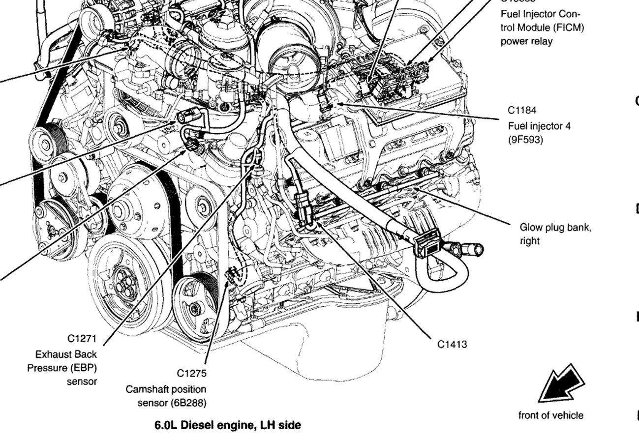 Wt_5110] 2005 Ford 6 0 Power Stroke Engine Diagrams Wiring
