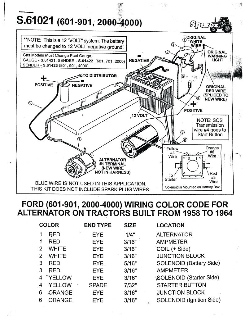 Xh_1651] Ford Tractor Wiring Diagram 8N Ford Tractor Wiring