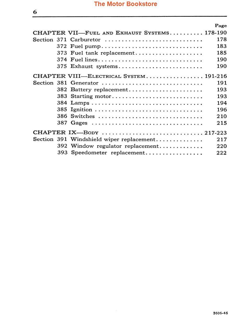 1942-1948 Ford, Lincoln, Mercury Service Manual