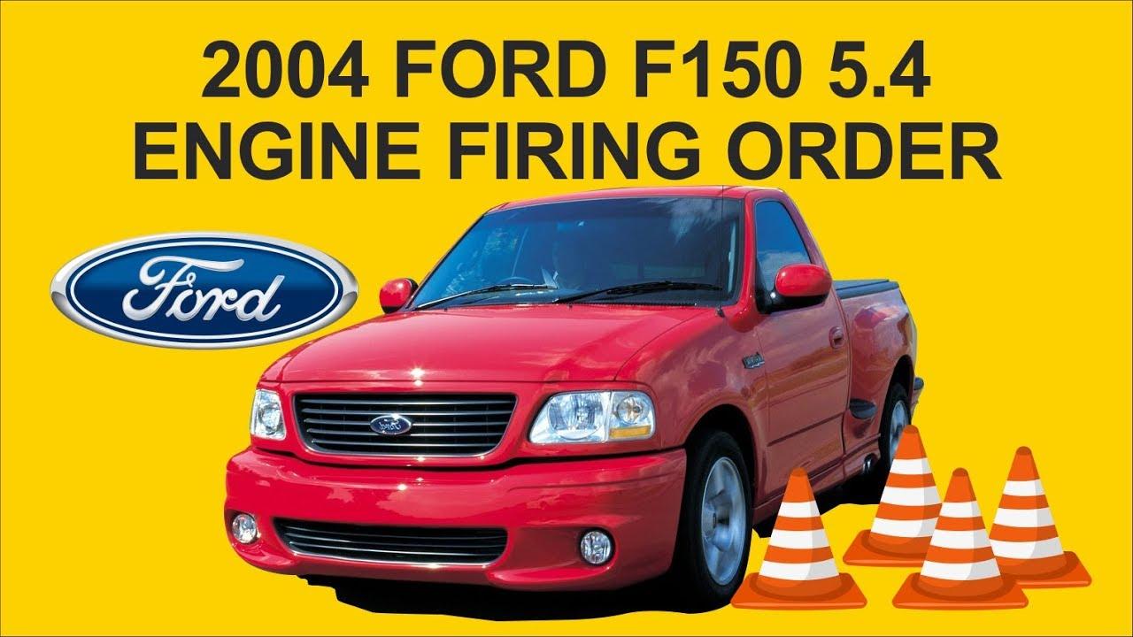 2004 Ford F150 5.4 Engine Firing Order - Youtube