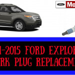 2011-2015 Ford Explorer 3.5 Spark Plug Replacement Removal Procedure  #sparkplugs #replacement