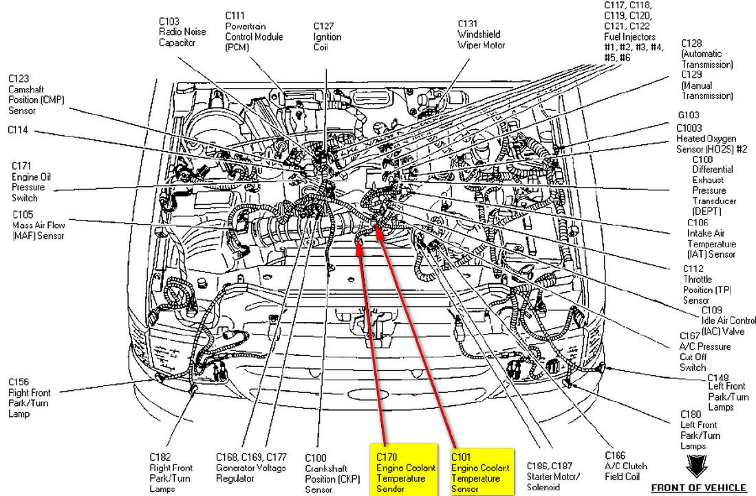 98 Ford Explorer Engine Diagram - 1982 Toyota Tercel
