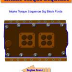 Big Block Ford Intake Torque Sequence   Gtsparkplugs