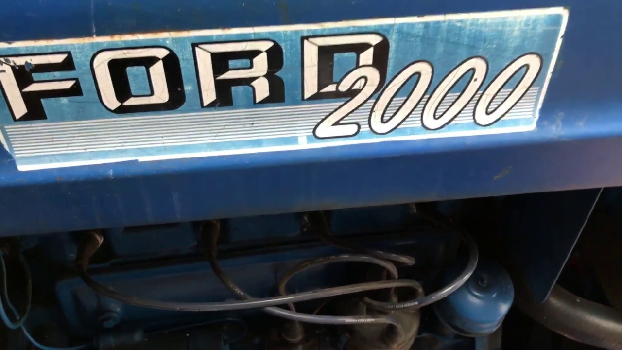 Changing Ignition Coil On A 1963 Ford 2000 Tractor