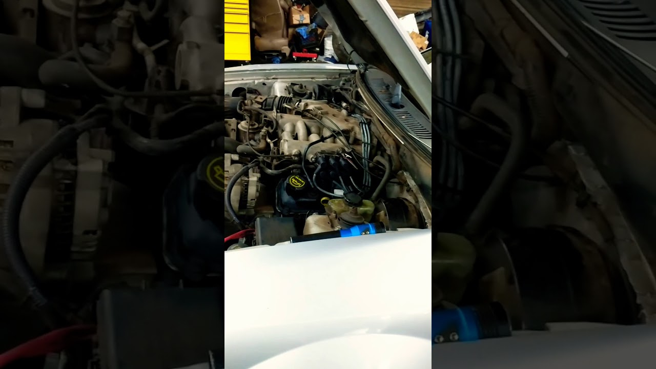 Changing Spark Plugs And Wires On 2002 Ford Mustang 3.8L