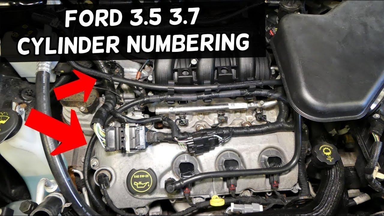 Cylinder Order Ford 3.5 3.7 Edge Flex Taurus Fusion Mkx Duratec 3.5