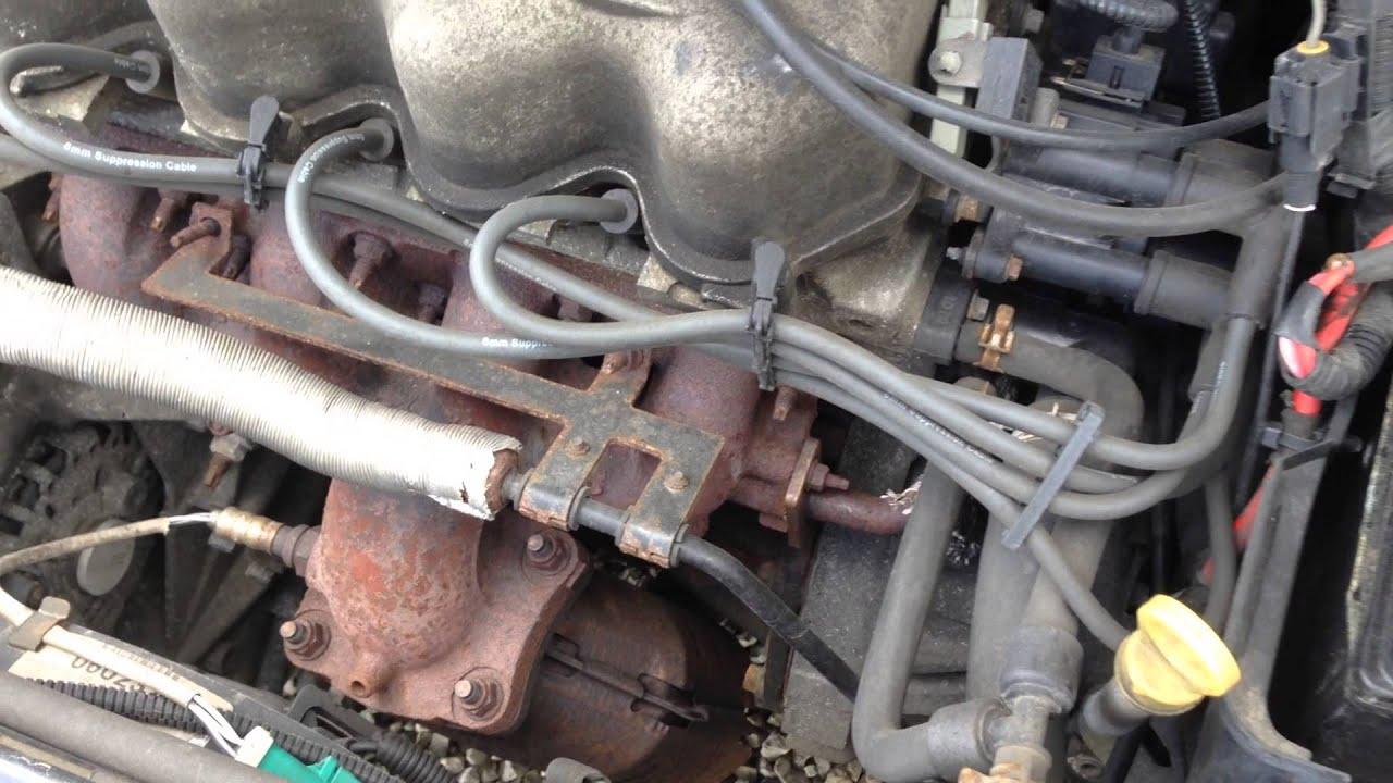 E1Fd133 2001 Ford Focus 2.0 Sohc Engine Test