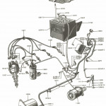 Electrical Wiring Parts For Ford Jubilee & Naa Tractors