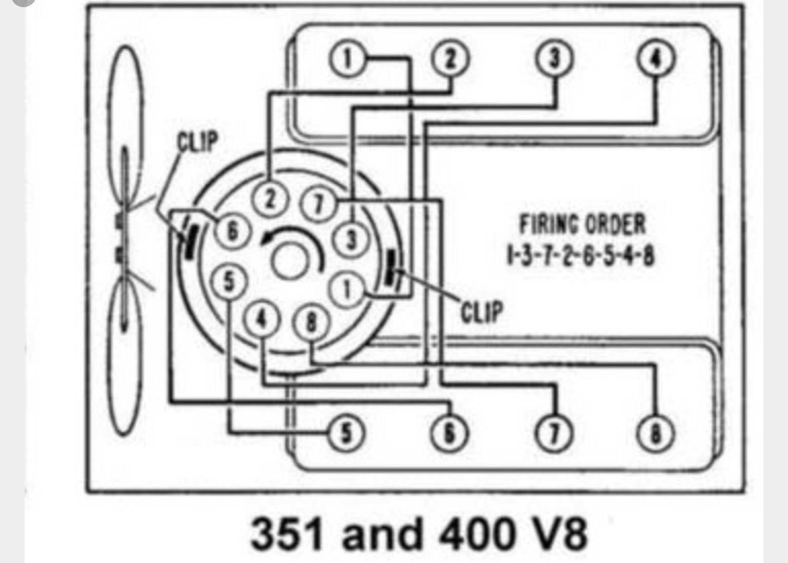 Firing Order Dilemma - Ford Truck Enthusiasts Forums