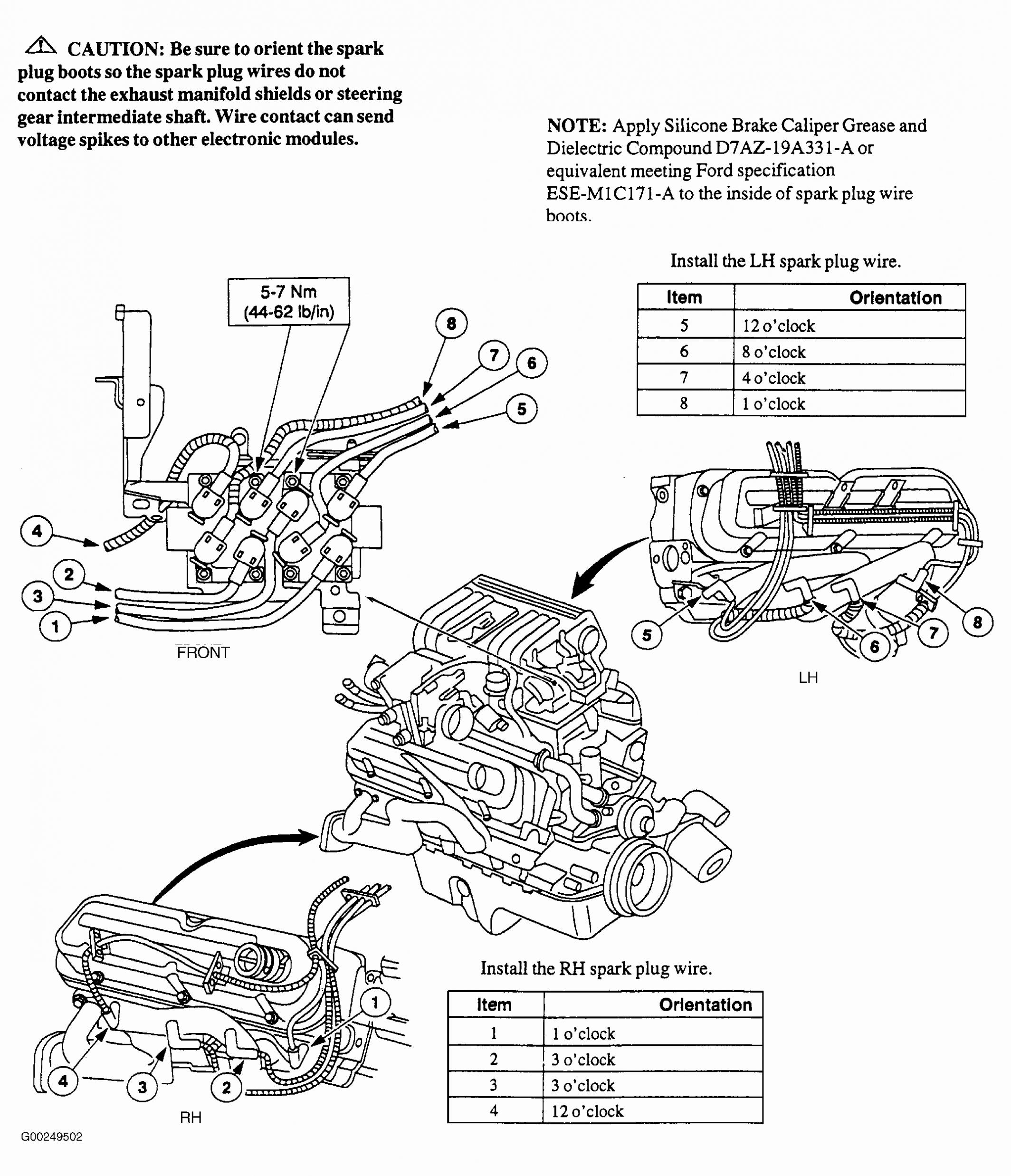 Ford 3 8 Engine Diagram Spark Plug - Center Wiring Diagram