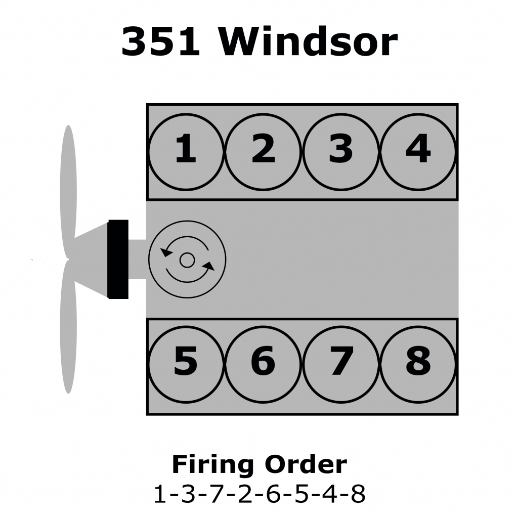 Ford 351 Windsor Firing Order