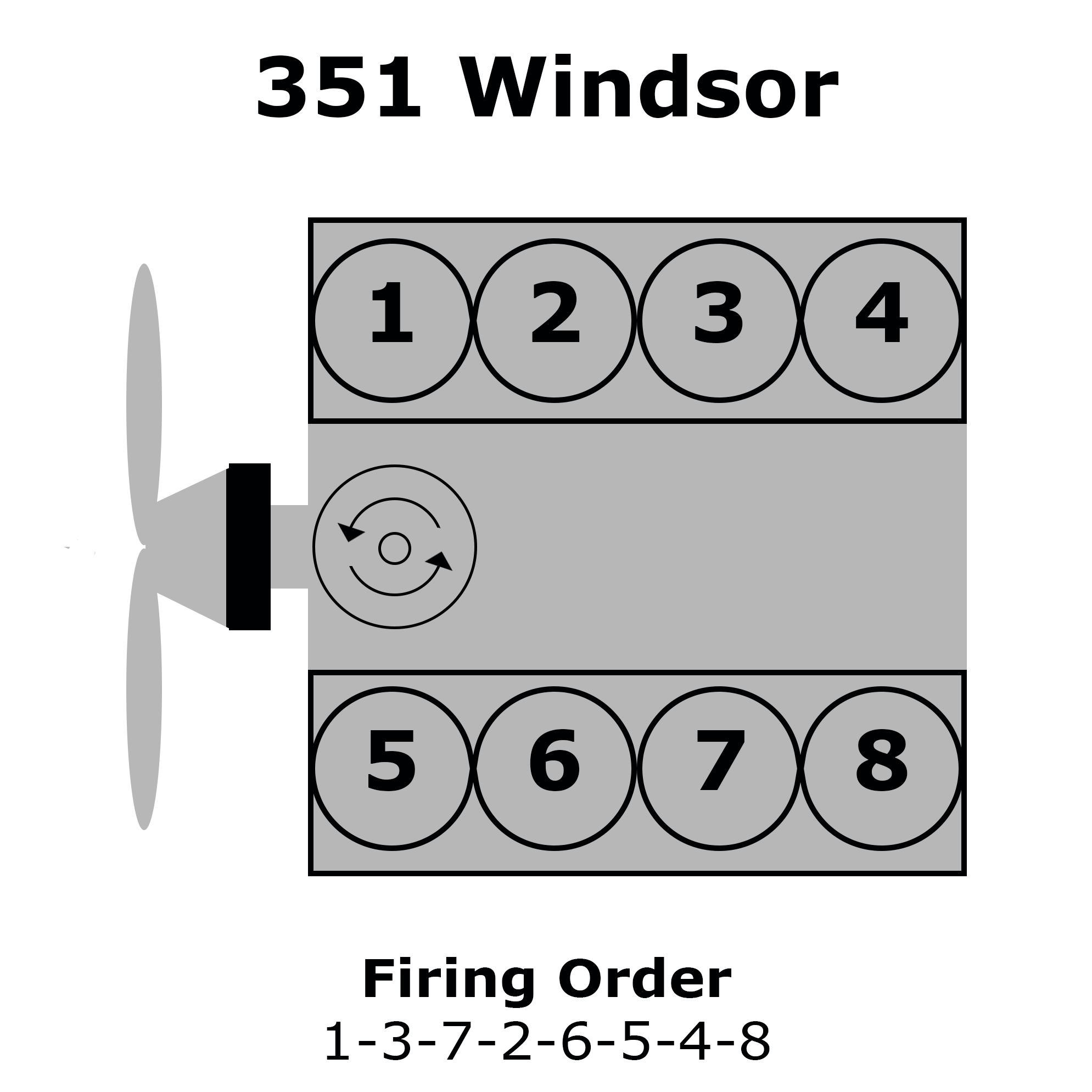 Ford 351 Windsor Firing Order